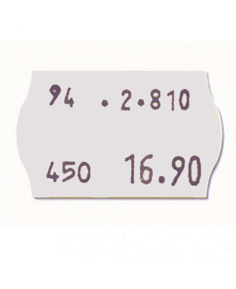 Huyiko 10 Rouleaux /Étiquette De Recharge De Papier /Étiquette De Rechange /Étiquette Autocollant Double Rang/ée Pour Pistolet D/étiquetage MX-6600